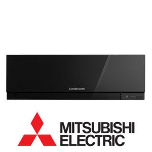 Инверторный настенный внутренний блок мульти сплит-системы Mitsubishi Electric MSZ-EF25VEB со склада в Воронеже серия Design Inverter для площади до 25 м2. Бесплатная доставка. Звоните!